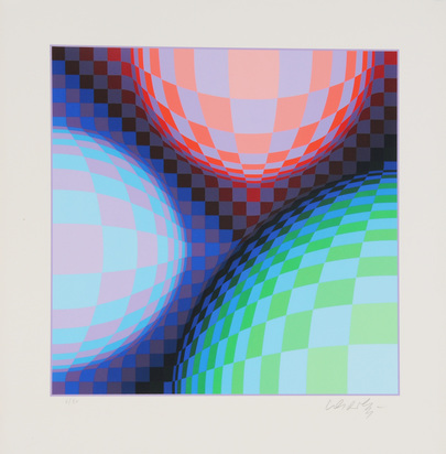 Vasarely Victor, Composition