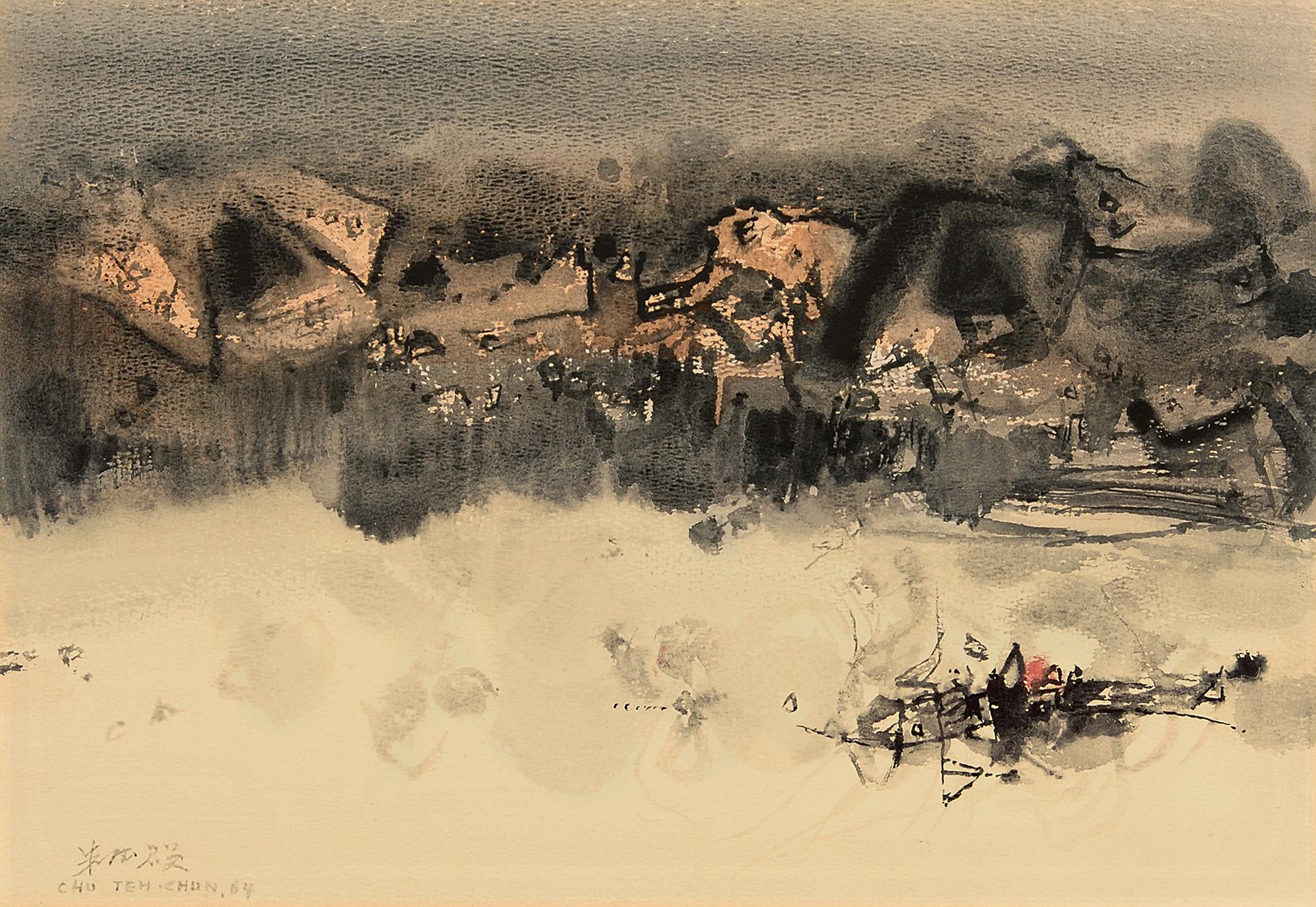 Chu Teh-Chun, Composition No. 206