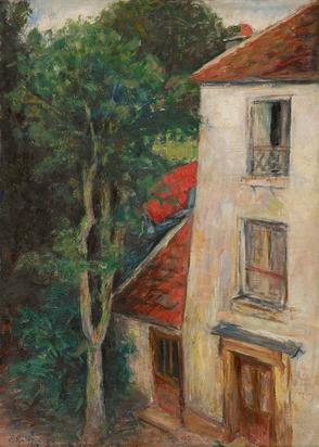 Epstein Elisabeth, Maison avec arbre