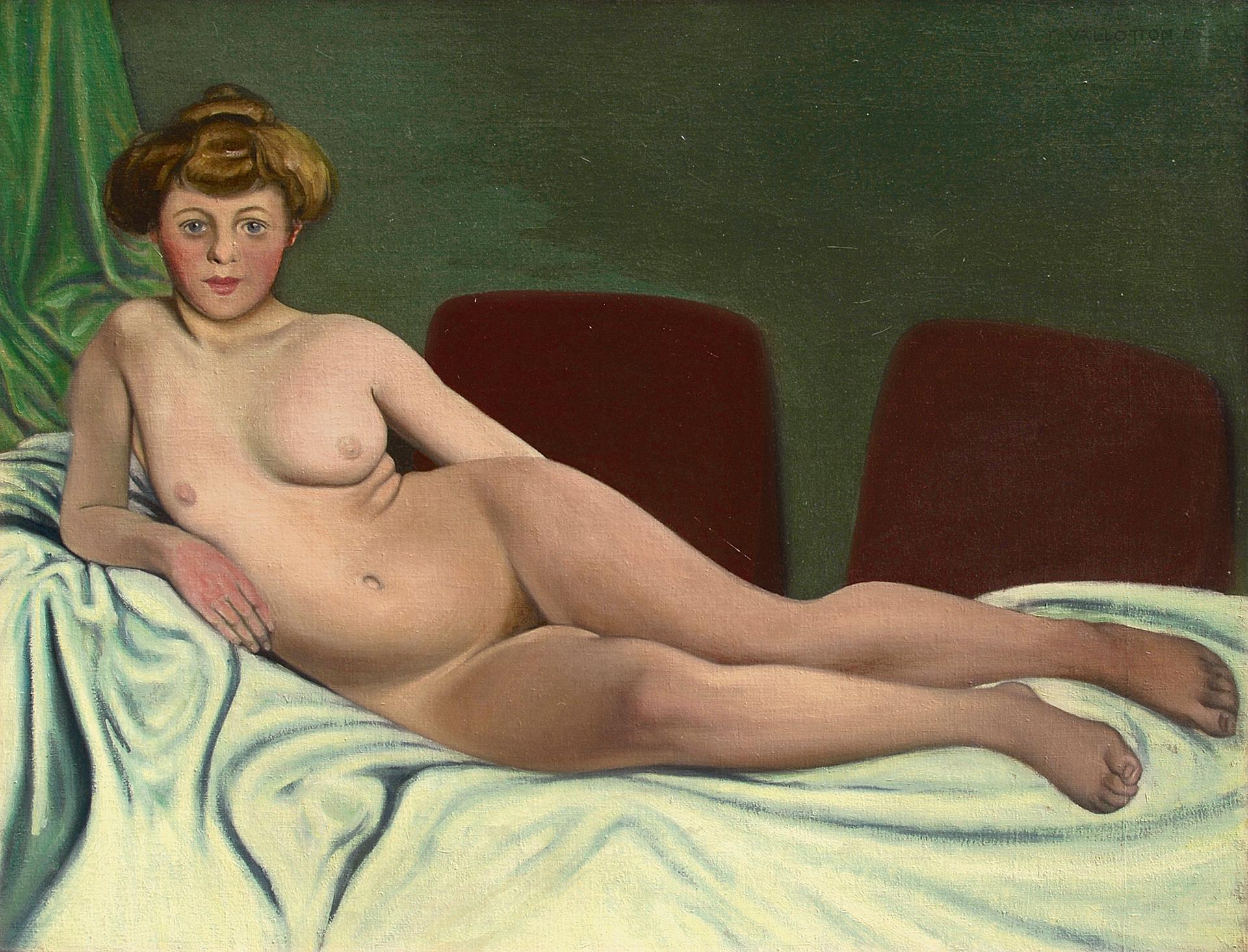 Vallotton Félix, Femme couchée