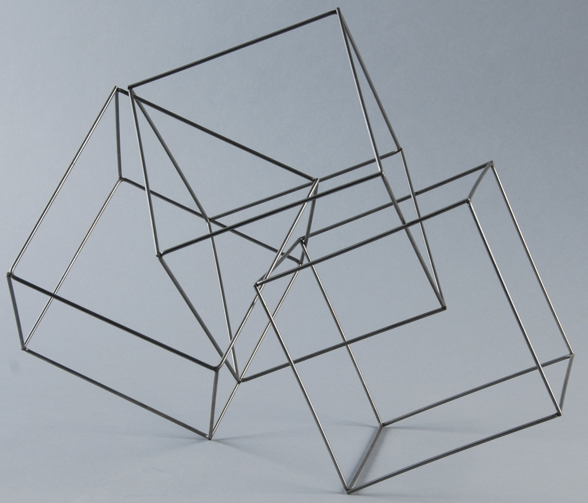 François Morellet, Trois cubes imbriques