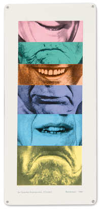 Baldessari John, Six Colorful Expressions (Frozen)