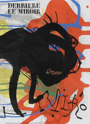 Derrière le Miroir, 6 Hefte: M. Chagall, Nr. 27-28, 1950; M. Chagall, Nr. 246, 1981; J. Miró. Sculptures, Nr. 186, 1970; J. Miró. Peintures sur papier - dessins, Nr. 193/194, 1971; J. Miró, Nr. 203, 1973; Nr. 231