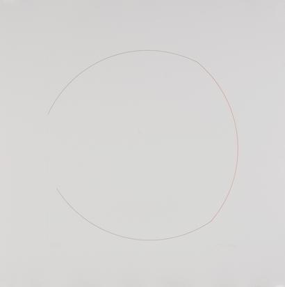 Morellet François, Mappe. Cercles brisés, coleurs rompues