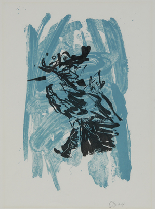 "Baselitz Georg, Untitled, from ""Adler"""