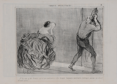 "Daumier Honoré, Untitled; 19 sheets from ""Charivari"""
