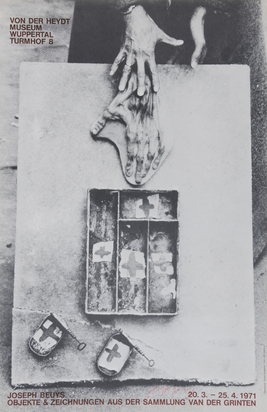 Beuys Joseph, 3 Exhibition posters: I like Amerika and Amerika likes me, 1974; Von der Heydt Museum, Wuppertal, 1974; Städtisches Museum Göttingen, 1979