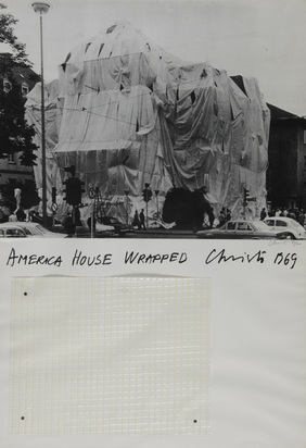 Christo, America House Wrapped, Heidelberg