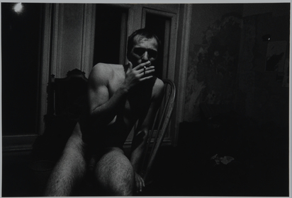 Frame Allen, Man Nude, Smoking, London '95