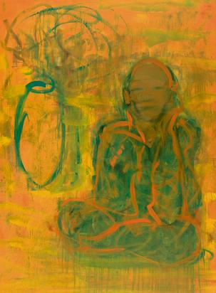 Witschi Hans, Ohne Titel (Die Meditation)