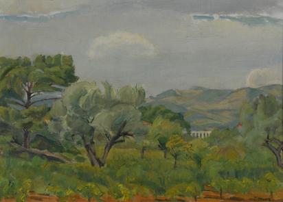 Senn Traugott, Landschaft in der Provence