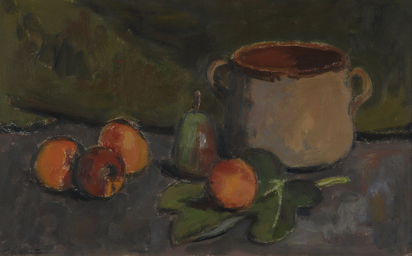 Chinet Charles-Louis-Auguste, Nature morte aux abricots