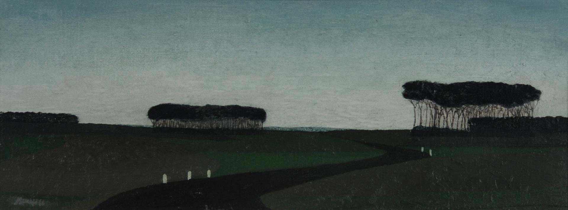 Benes Vlastimil, Landschaft mit Strasse