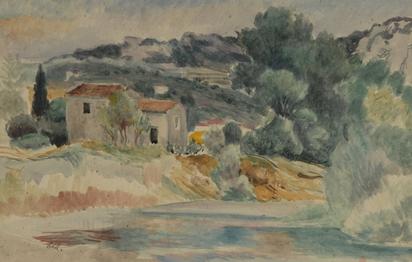 Häusermann Charles, Südfranzösische Landschaft