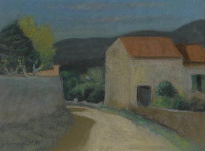 Klossowski Erich, Südliche Landschaft