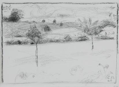Amiet Cuno, Landschaft