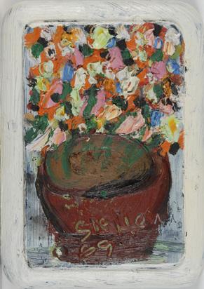 Steffen Walter, 7 Gemälde: Blumenstillleben
