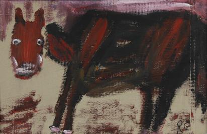 Gertsch René, Rotes Pferd