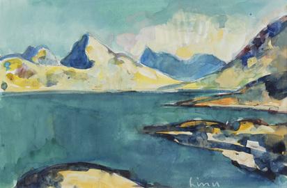 Liner Carl, Seelandschaft