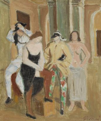 Gimmi Wilhelm, Foyer de la danse