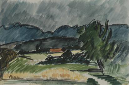 Berger Hans, Juralandschaft