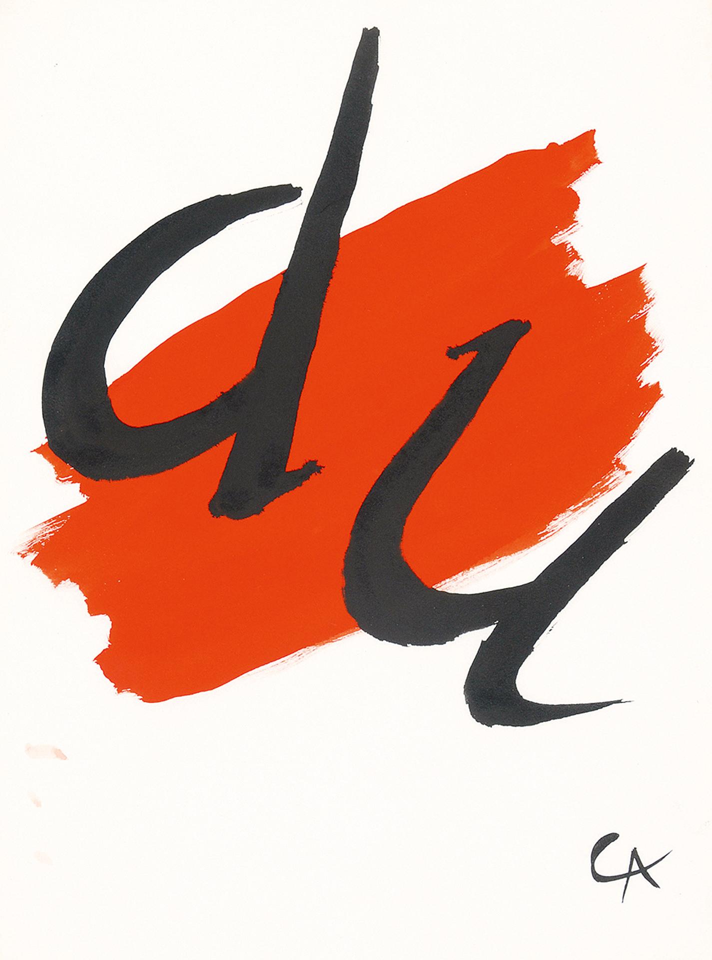 Alexander Calder, Du