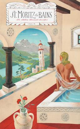 Laubi Hugo, St. Moritz les Bains