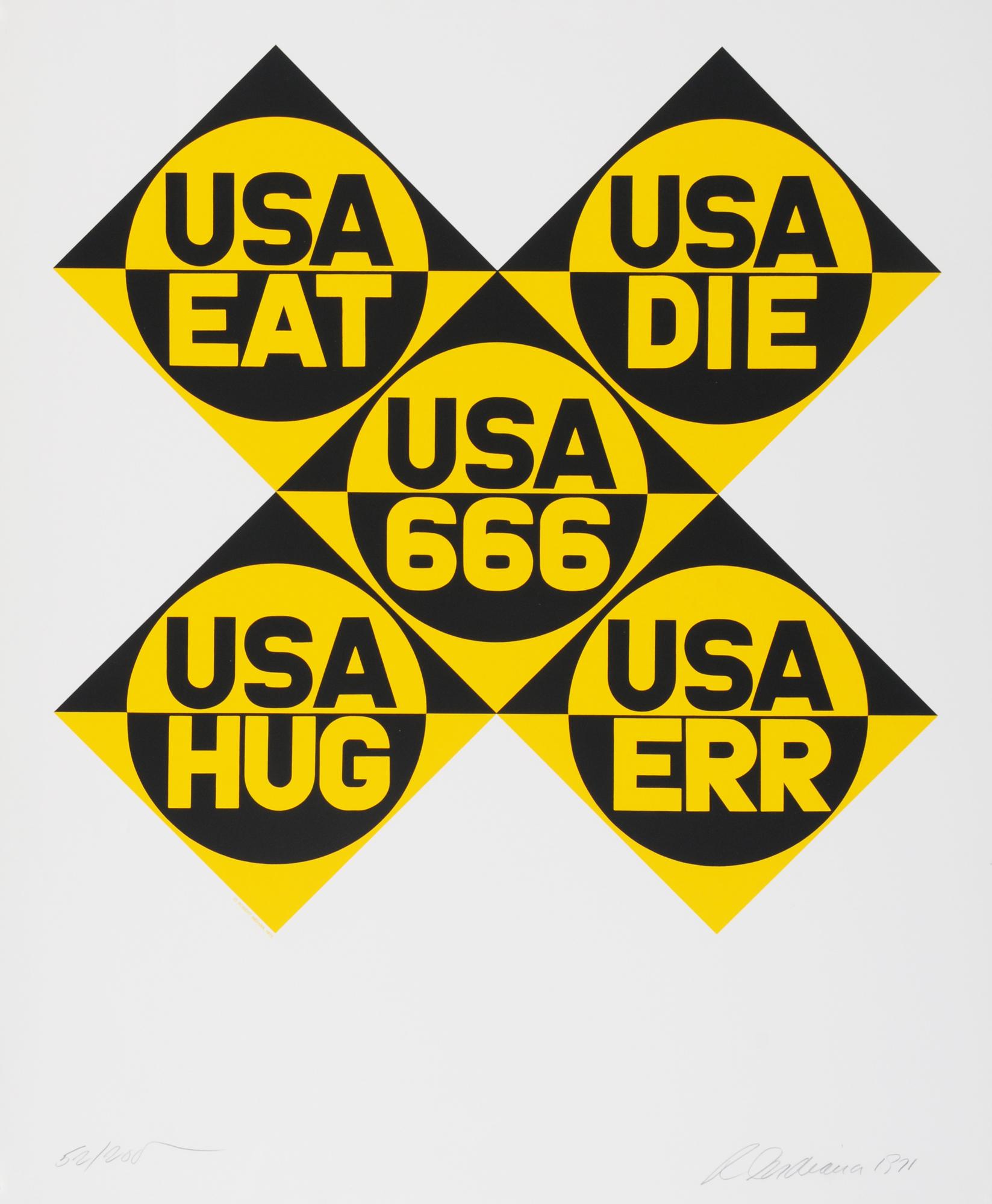 """Indiana Robert, USA 666, aus """"Dedicate"""""""