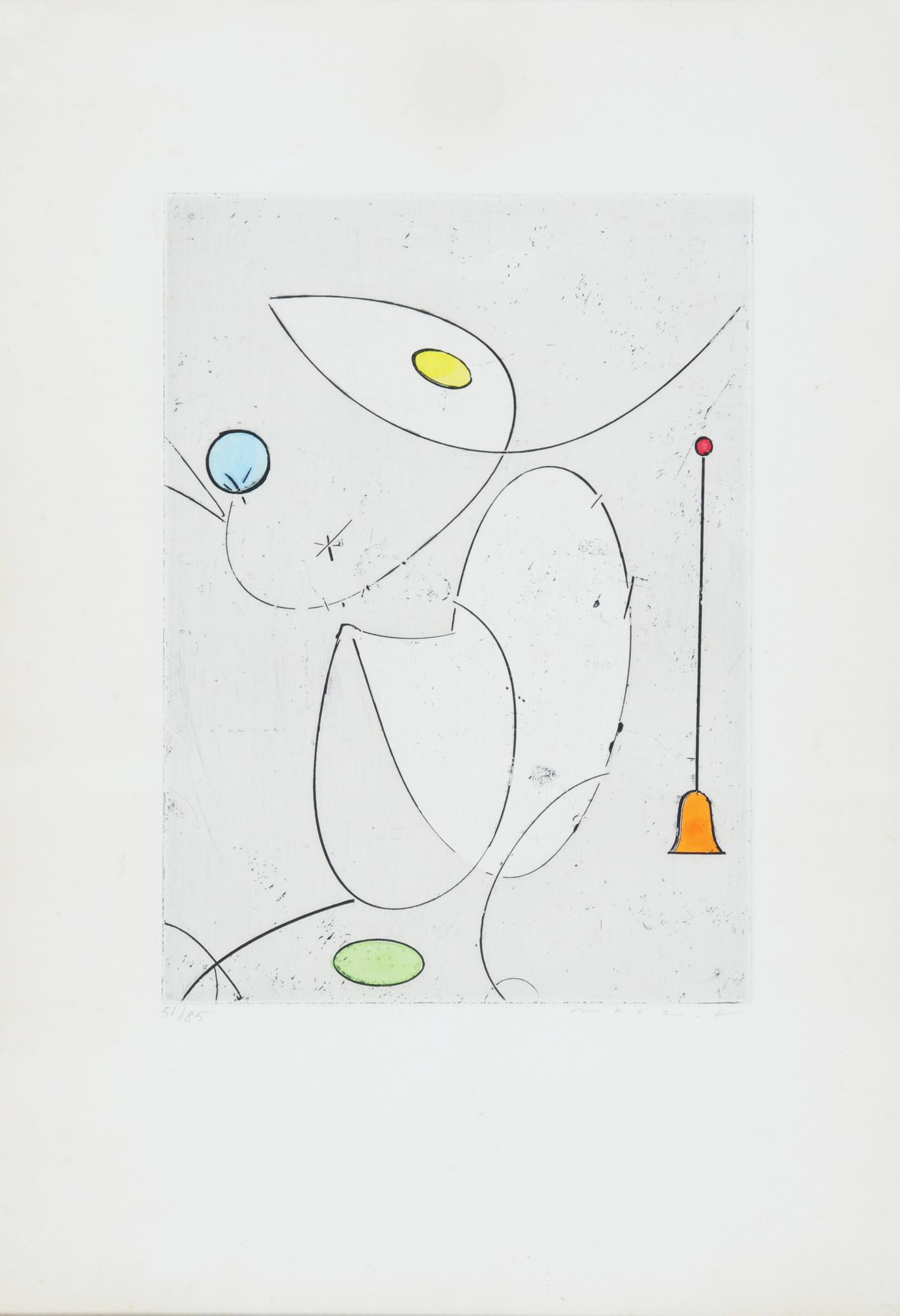 Ernst Max, La cloche rouge