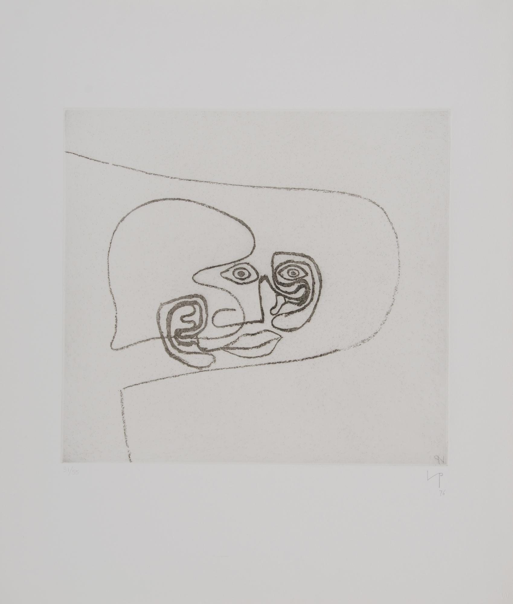 "Pasmore Victor, Sheet from ""Metamorphosis-A"""