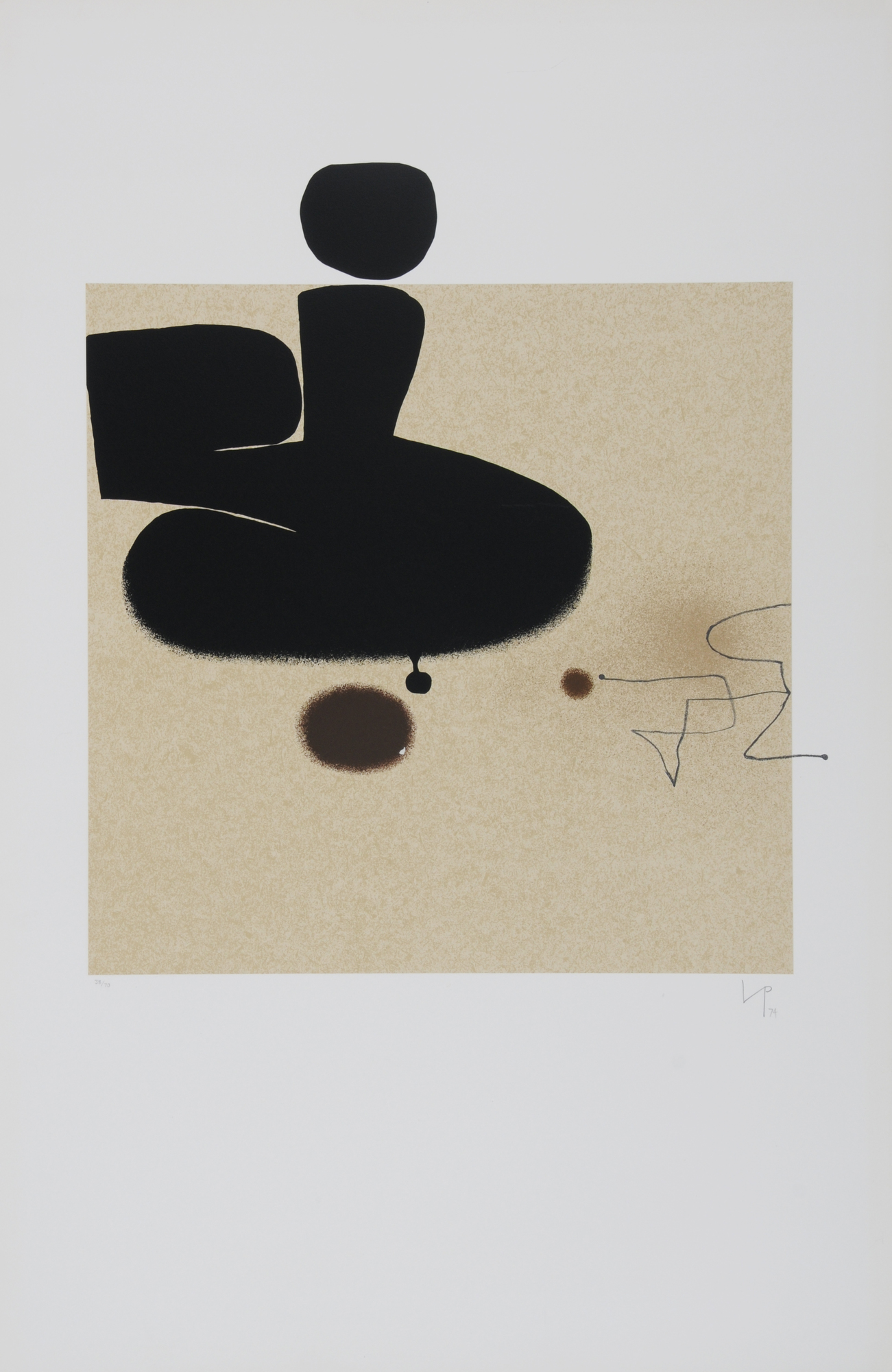 """Pasmore Victor, Blatt aus """"Points of Contact No. 26"""""""