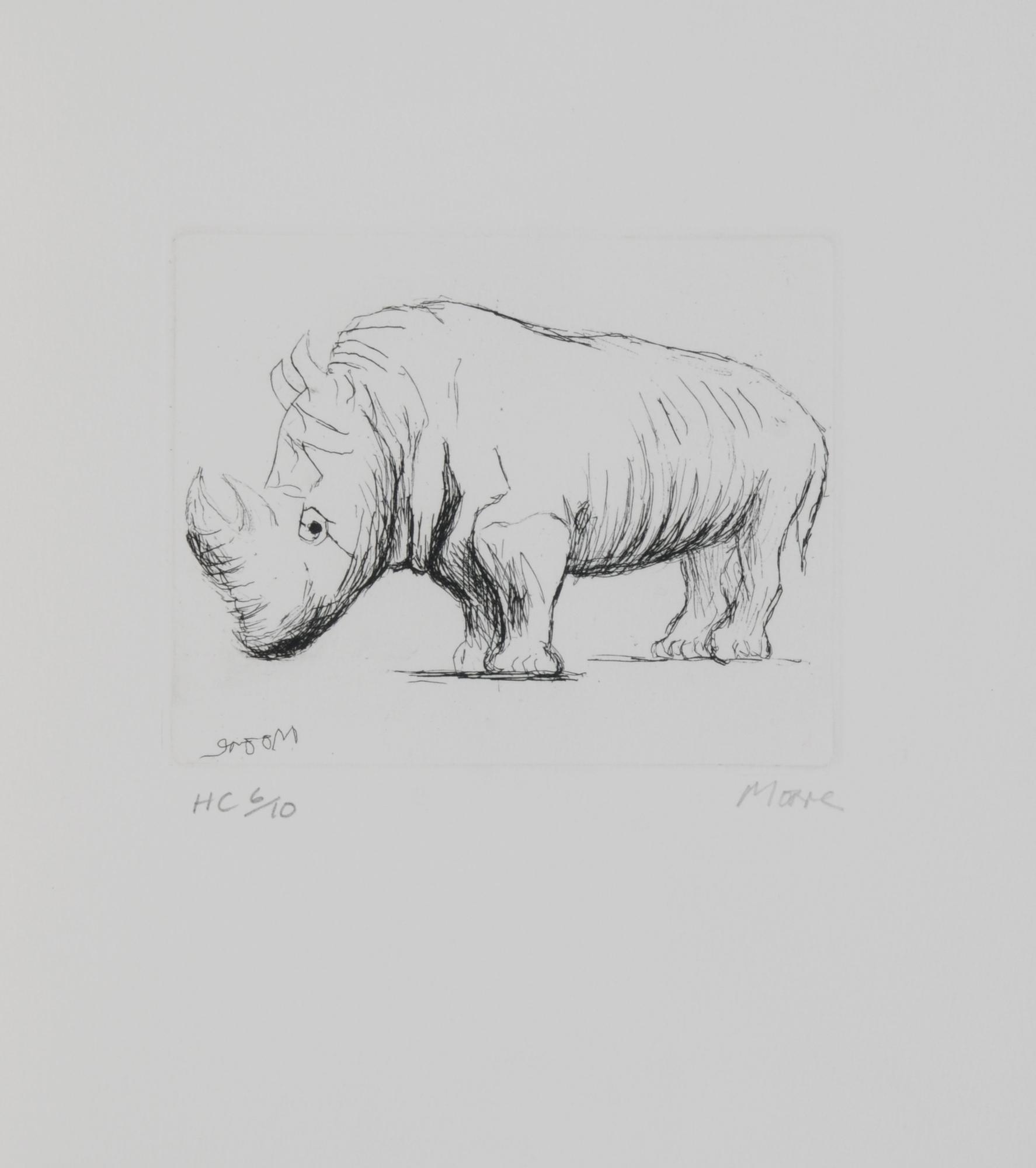 Moore Henry, Rhinoceros