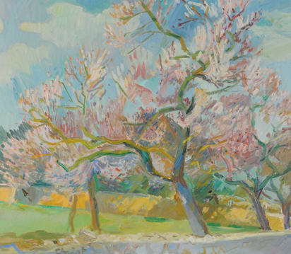 Christ Martin Alfred, Cherry Trees in Blossom