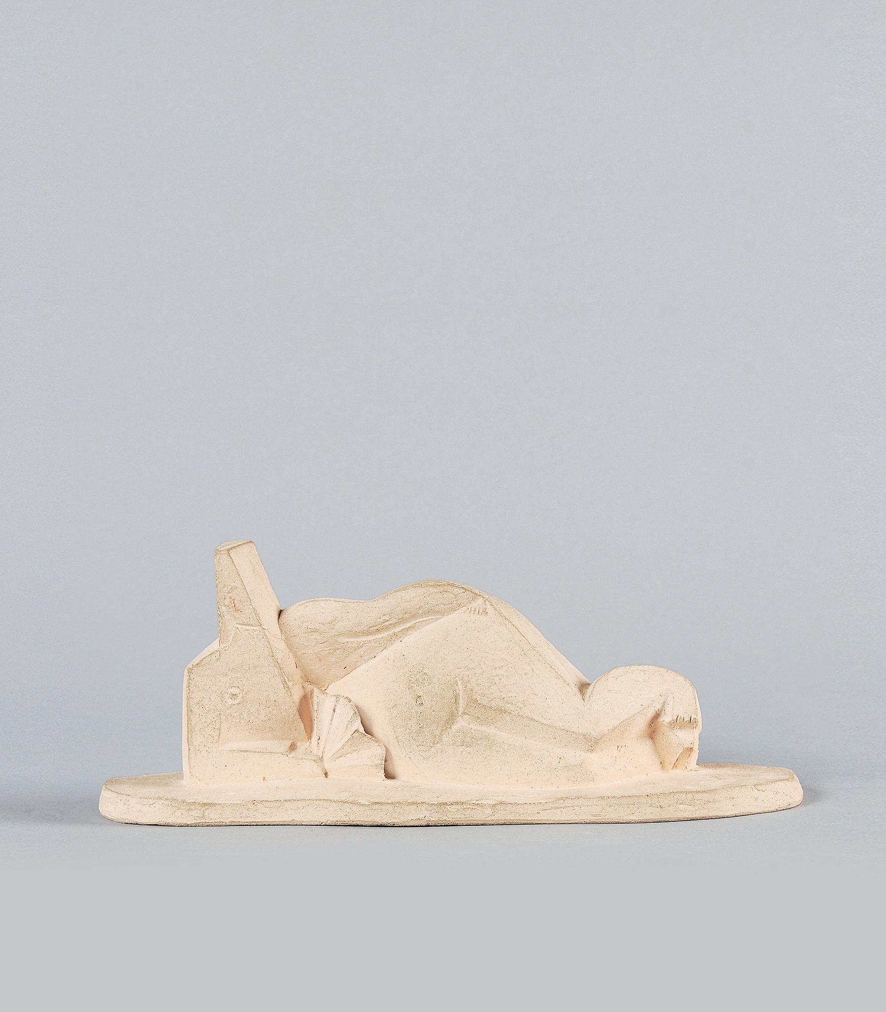 Laurens Henri, Femme couchée à l'éventail