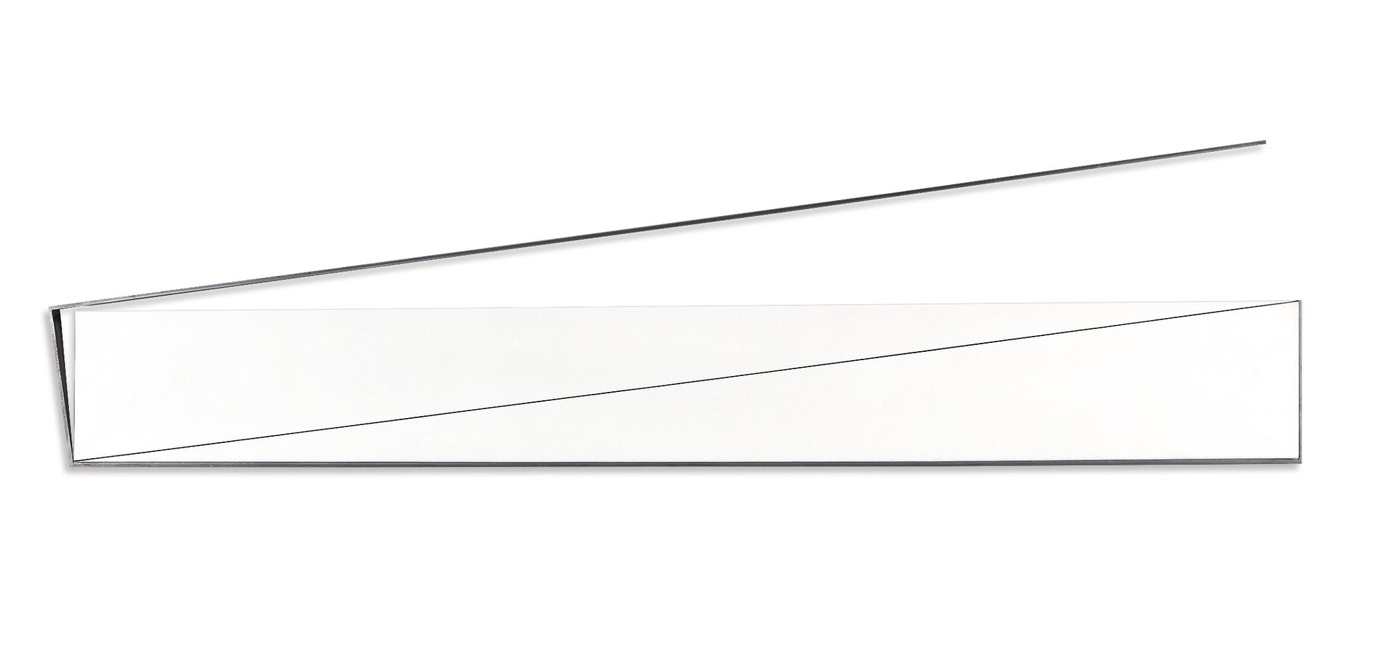 Morellet François, Rectangle (1x4) 8°, 98° avec la moitié de son périmètre, 0°, 90°