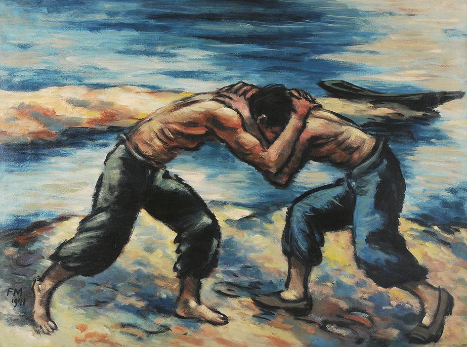 Masereel Frans, La lutte