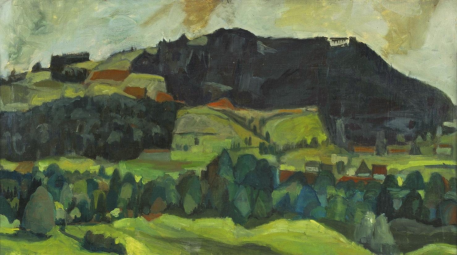 Kuhn Friedrich, Gurten/Landschaft
