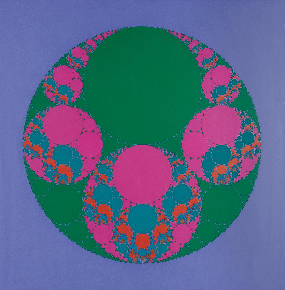 Gerstner Karl, Color Fractal, 2ter Ordnung