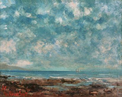 Courbet Gustave, Lac Léman
