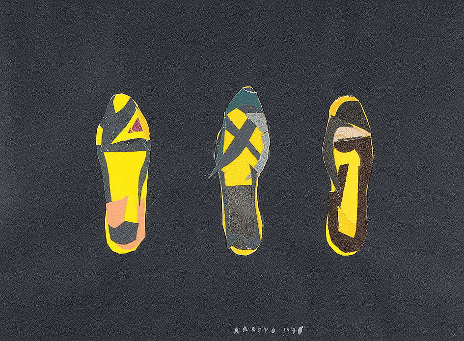 Arroyo Eduardo, Schuhe aus Kreuzberg