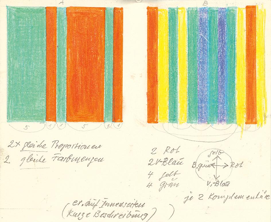 """Lohse Richard Paul, Parallelen, Studie zu """"Spektrum"""", Nr. 86, März 1980"""