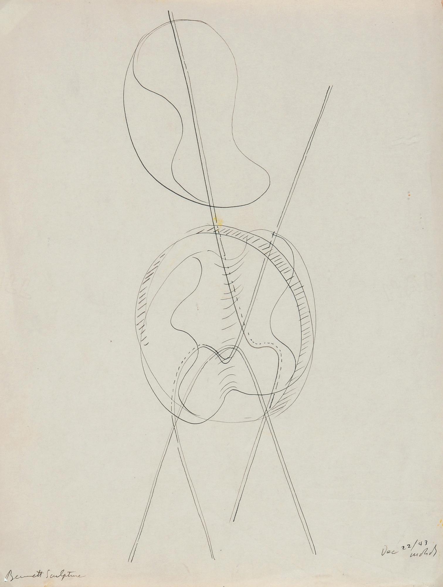 Moholy-Nagy László, Bennett Sculpture