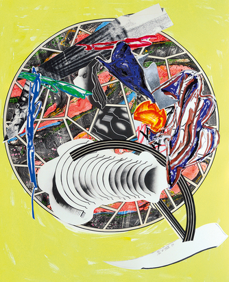 """The Whale as a Dish, 1989,  from """"The Waves"""""""