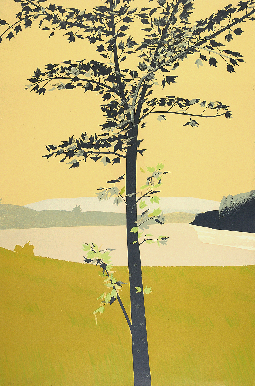 Katz Alex, 2 Blätter: Swamp Maple I, 1970; Swamp Maple II
