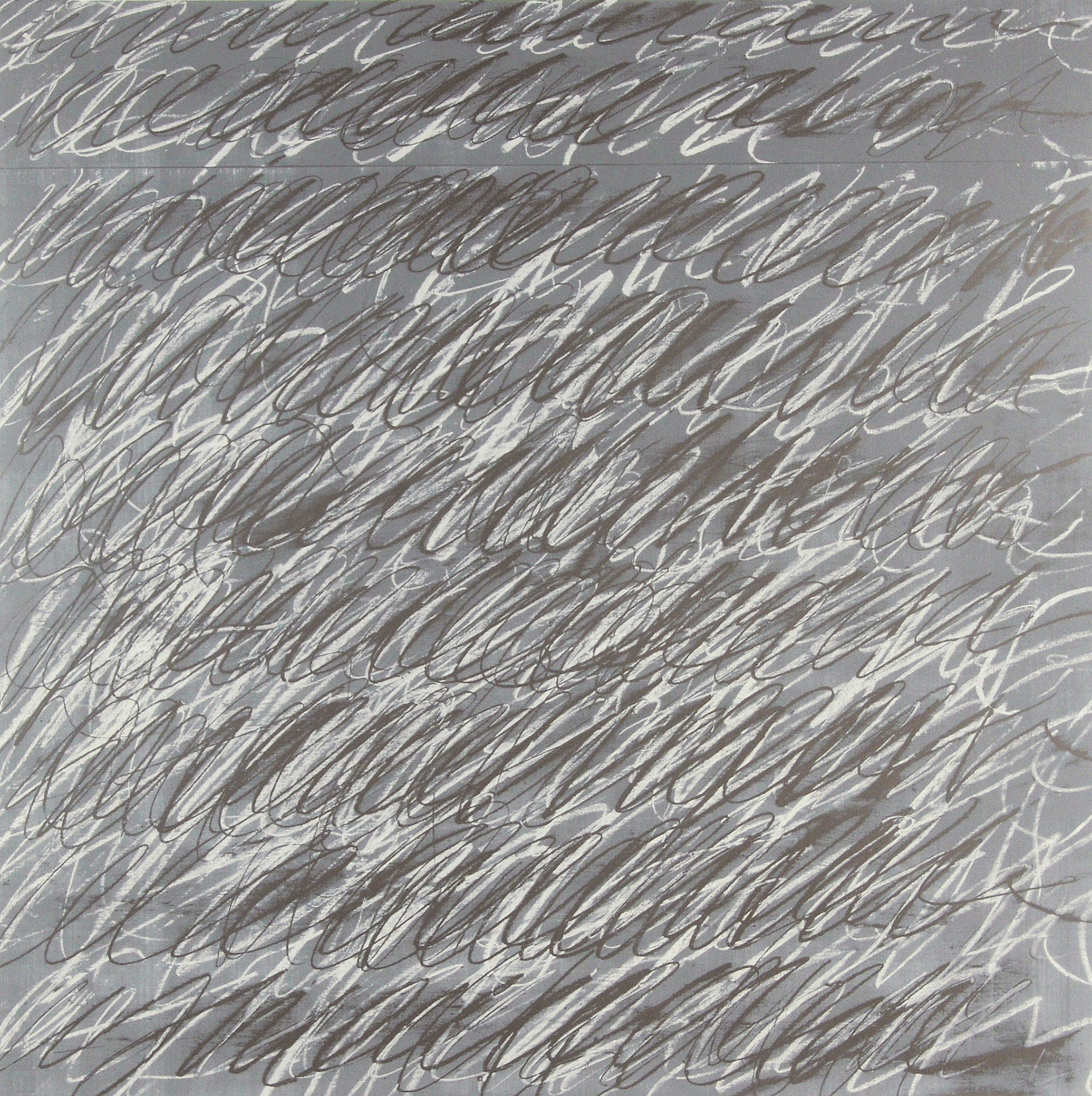 "Twombly Cy, Untitled,  from ""On the Bowery"""