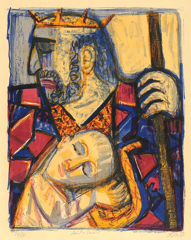 Dix Otto, Saul und David