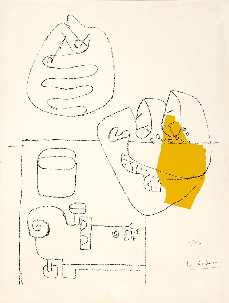 Corbusier Le, Mains croisées