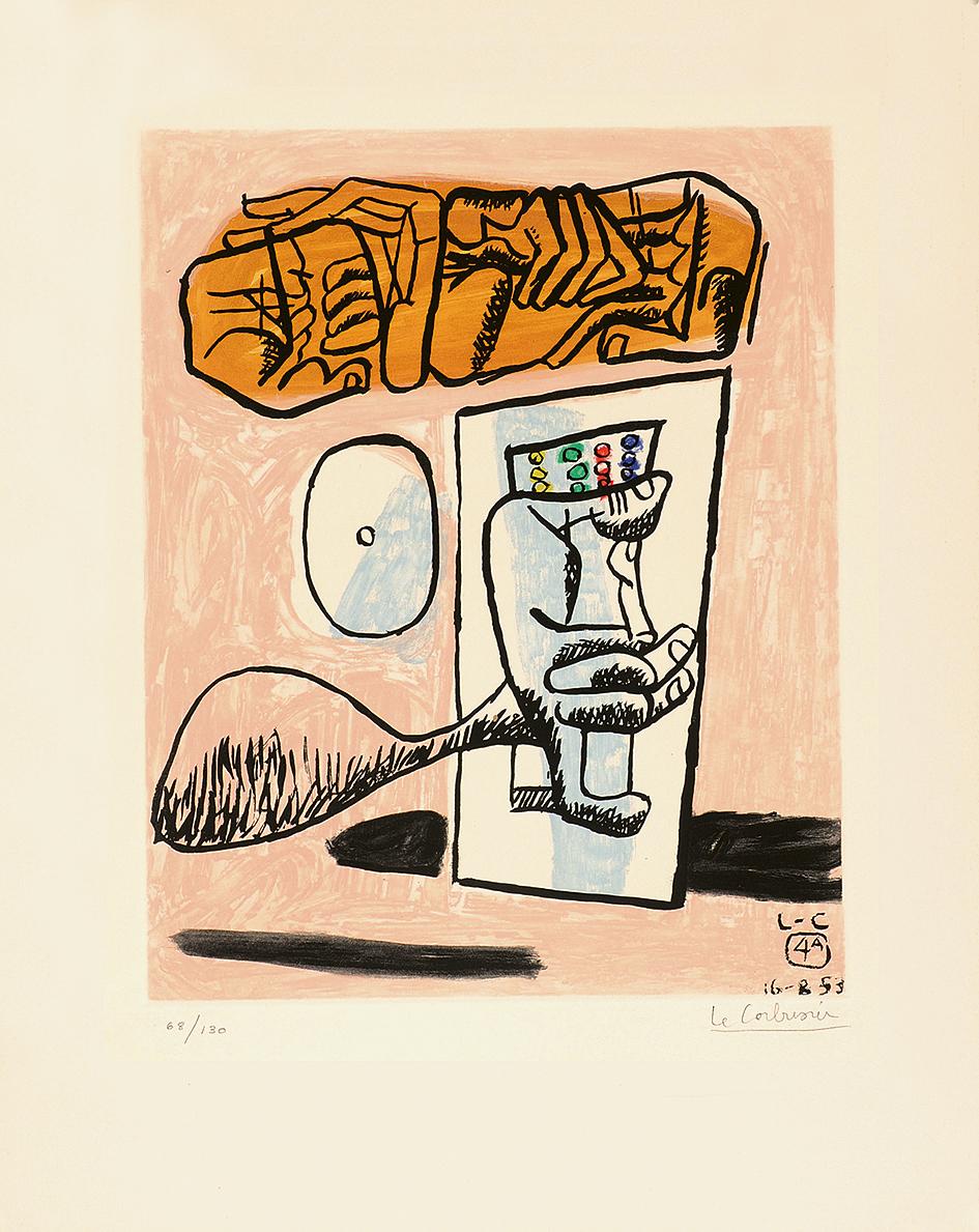 """Le Corbusier, Unité 4A, from """"Unité"""""""