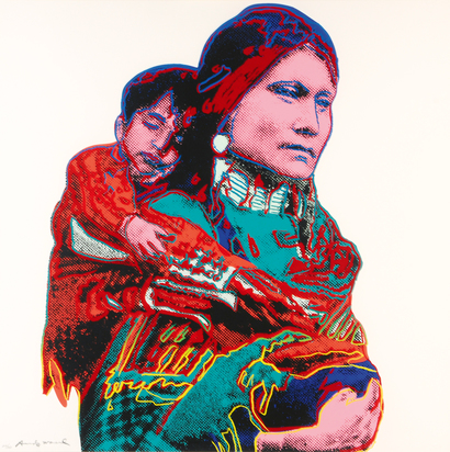 """Mother and Child,  from """"Cowboys and Indians"""""""