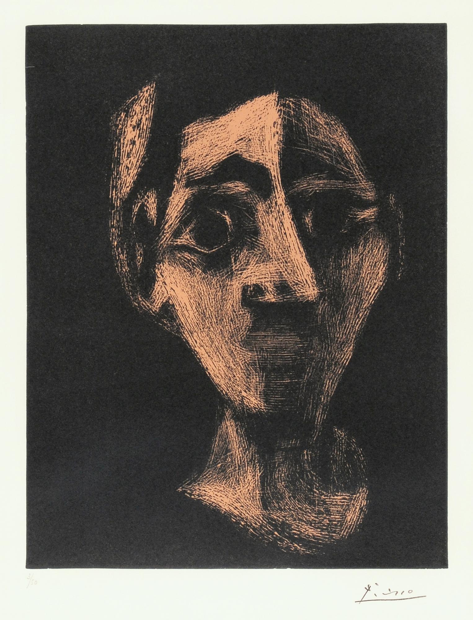 Picasso Pablo, Jacqueline au bandeau I
